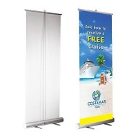 Roll Up Banner Tek Taraflı 85cm*200cm