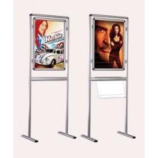 İnfoboard Ayaklı Poster Pano Çift Taraflı 70cm*100cm B1