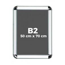 B2 Çıtçıtlı Alüminyum Rondo Çerçeve 50*70cm
