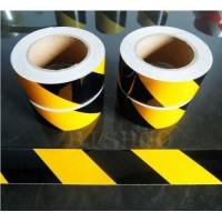 Sarı-Siyah Reflektif Şerit Bant Folyo 5cm*45.7mt