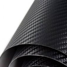 Karbon Folyo Siyah 3D Hava Kanallı 152CMX1MT